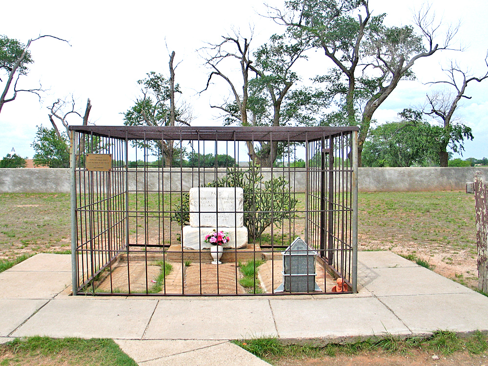 Billy The Kid's Grave - Fort Sumner